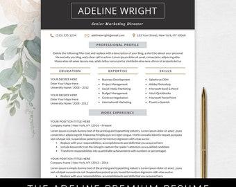Resume Templates & Professional Marketing von TheShineDesignStudio