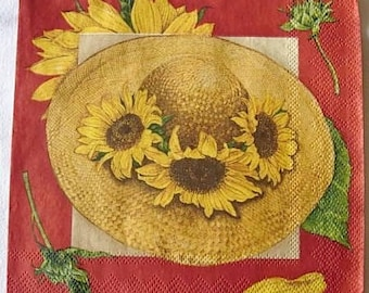Sunflower paper towel