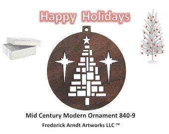 840-9 Mid Century Modern Ornament
