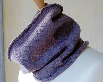 Knit Neckwarmer, Cowl, Snood, Gaiter, Buff, Unisex, Knit to Order