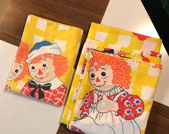 Raggedy Ann and Andy Sheets