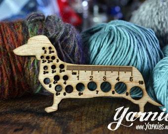 Yarnies Dachshund Knit and Crochet Tool