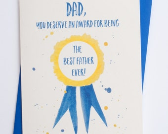 Dad, You Deserve | Funny Father's Day Card