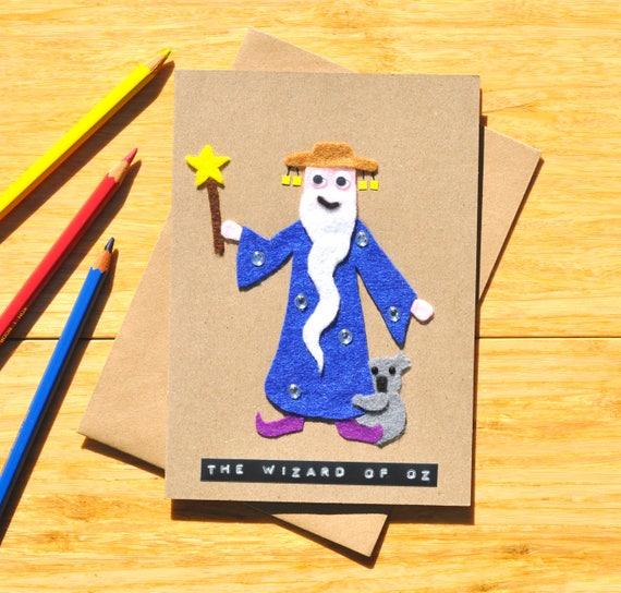 Wizard of oz birthday card greeting card australian bookmarktalkfo Images