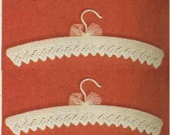 Knitting HANGER Cover PATTERN Baby Hanger Pattern Baby Shower Favor Crochet Hangers Pattern Instant Download