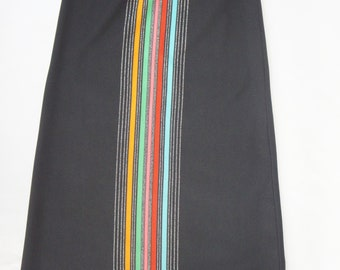 Vintage 60s Maxi Skirt By Fred Rothschild California/Retro/Mod/Mid Century