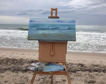 Florida Beach Seascape Painting Storytelling of the Ocean