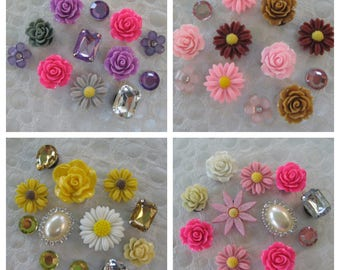Decorative Magnets Magnet Set Office Refrigerator Fridge Magnetic Board Flower Magnet Set Housewarming Hostess Gift Gift for Her Favors