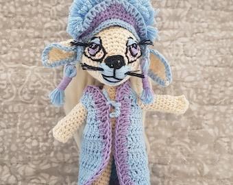 "Handmade doll collection ""Hatdogs""-model LALO"