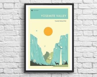 Art-Poster - 50 x 70 cm - Yosemite National Park