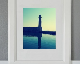 Rethymno Lighthouse (8x10 Fine Art Photograph)