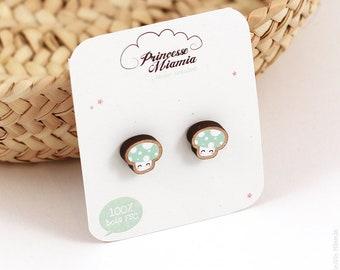 Cute mushroom earrings