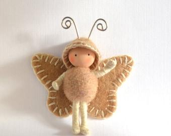 Moth Bug Bendy Doll