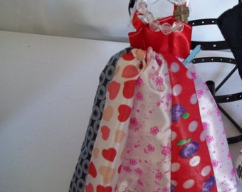 Barbie Quilted skirt outfit 103B