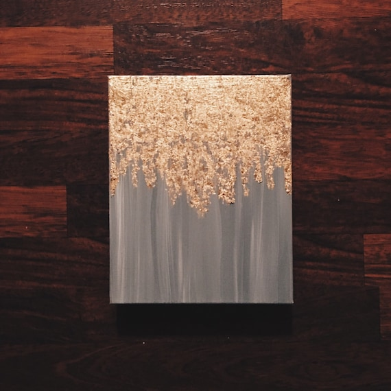 Gold Leaf Wall Paint: Items Similar To As Seen In HGTV Magazine, Gold Leaf