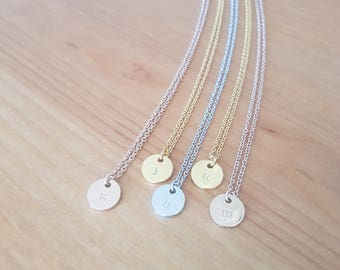 Custom Dainty Personalised Initial Necklace