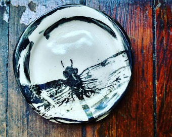 Dragonfly Small Plates- -  4 inches