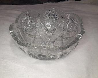 Star of David Glass Bowl