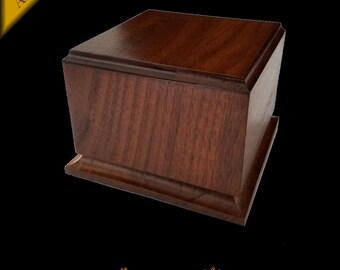 "NEW Wagler Awards Walnut Trophy Award Base 6.25"" x 6.25"" x 4.5"""