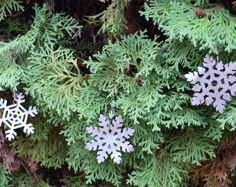 Snowflake Metal Ornaments, Christmas ornament, Christmas sign, Holiday decor, Christmas decor, Christmas tree, Snowflake art, snowflake