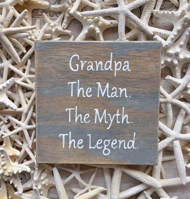 Grandpa in wood