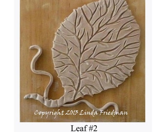 Stamp for Fabric - Leaf No. 2