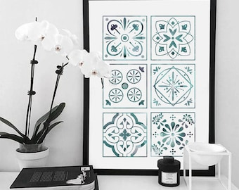 COLLECTION VEGETALE - AZULEJOS