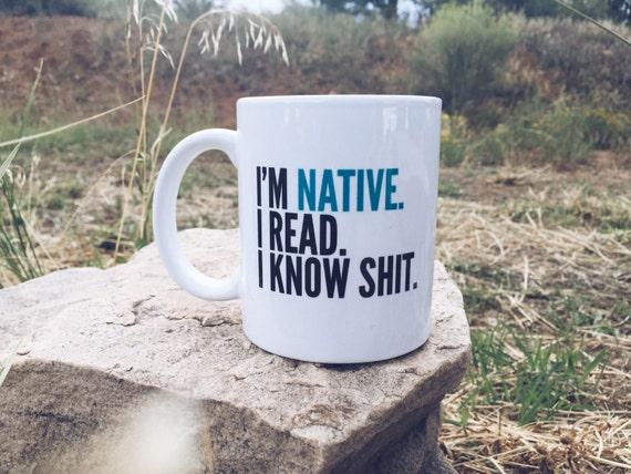 I Know Shit Mug