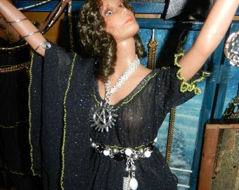 """Lady of the Altar Priestess Doll 15"""" Wicca Witchcraft Moon Pagan Goddess Ritual"""