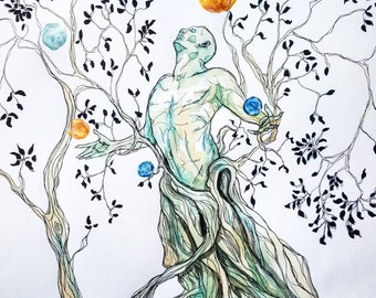 Tree of Life Print A4-A2
