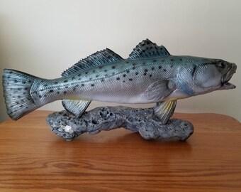 Trout on Rock (Original)