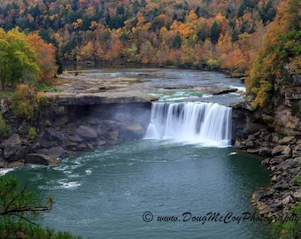 Autumn at Cumberland Falls State Park. #4934