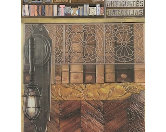 7Gypsies Architextures JUNQUE PACK - LIBRARY Mixed Media Textures 6 Pc #7g25031