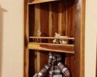 Cedar Corner Shelf
