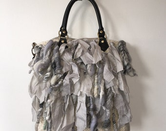 Wool Gypsy Handbag