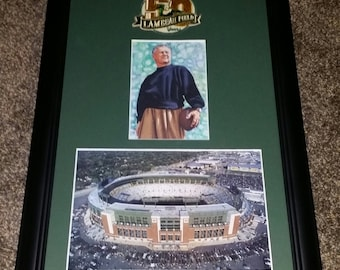 Lambeau ...The man and the field that bears his name 11x17
