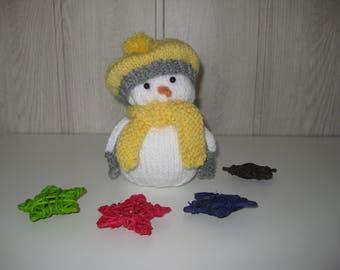 wool snowman