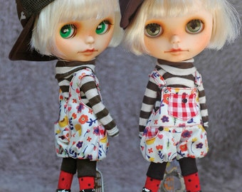 Patterns and English Instructions of Jogger Overall for Blythe Doll