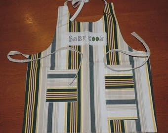 Mixed apron for budding little chef