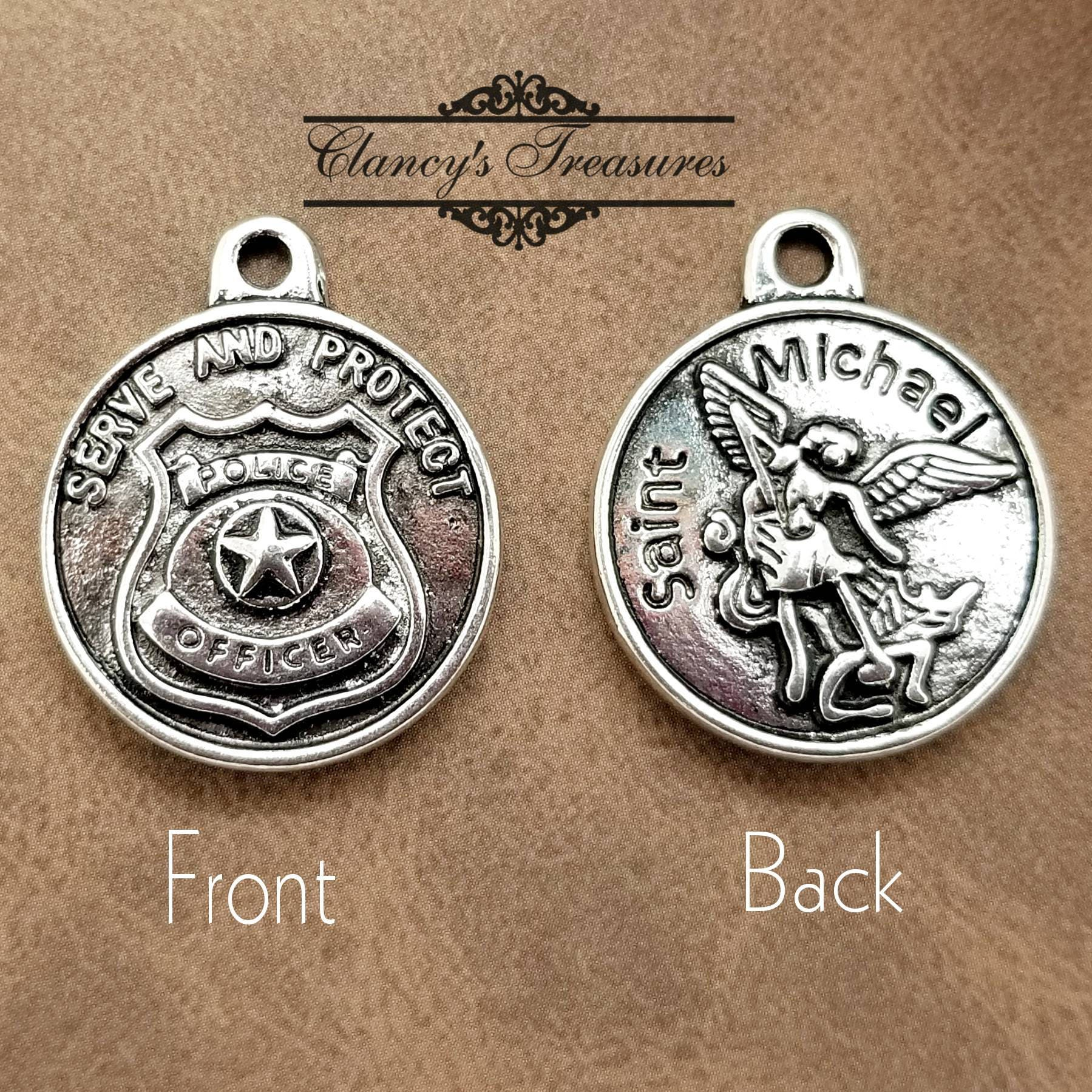 john thumb jewelry pendants charm necklace category necklaces badge police pendant