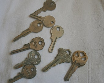 Old Door Keys  Jewelry Making Supply Crafting Supplies