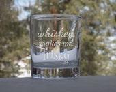 Whiskey Glass Gift, Etche...