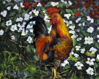 Rooster in Garen