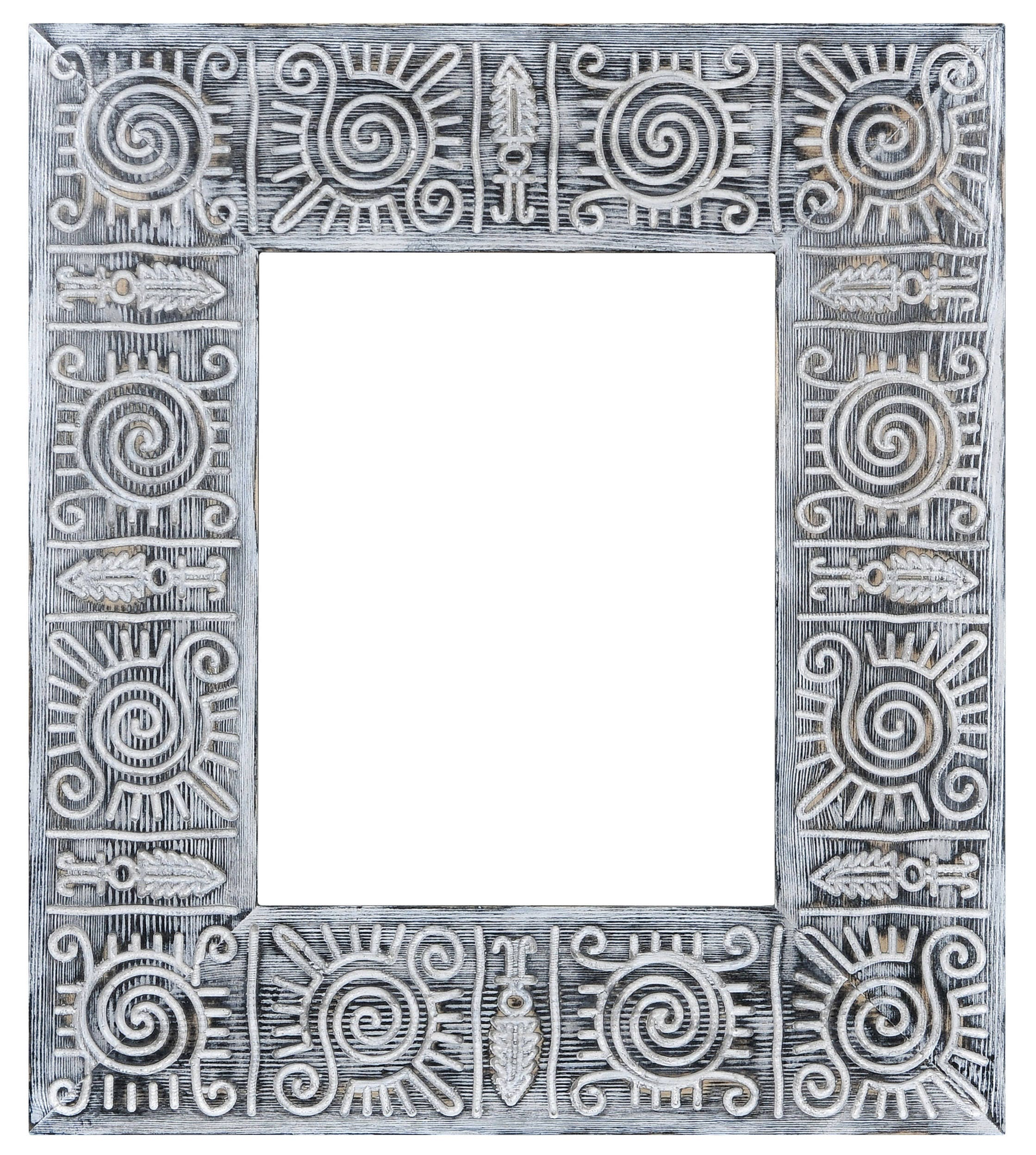 Frame for photo Sunafrican printable african pattern