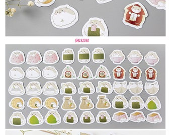 Hamsters Stickers Pack SM232030 45pcs