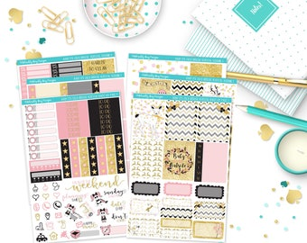 Vertical Baby It's Cold Outside Winter Themed Weekly Planner Sticker Kit for Erin Condren, Plum Planner, Inkwell Press or Filofax Planners
