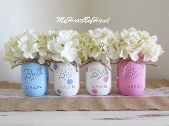 Baby Shower Decorations Gender Reveal Baby Shower Pink And