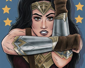 You Are a Wonder Woman Poster Print