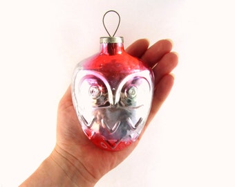 Christmas decor Christmas home decor Christmas ornament decor Christmas gift decor Christmas ornament Holiday decor Owl ornament Christmas