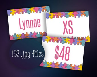 SALE! Price cards - Name cards - Size Cards - New Style 2017 + Dsny Collection - Style cards - Instant Download